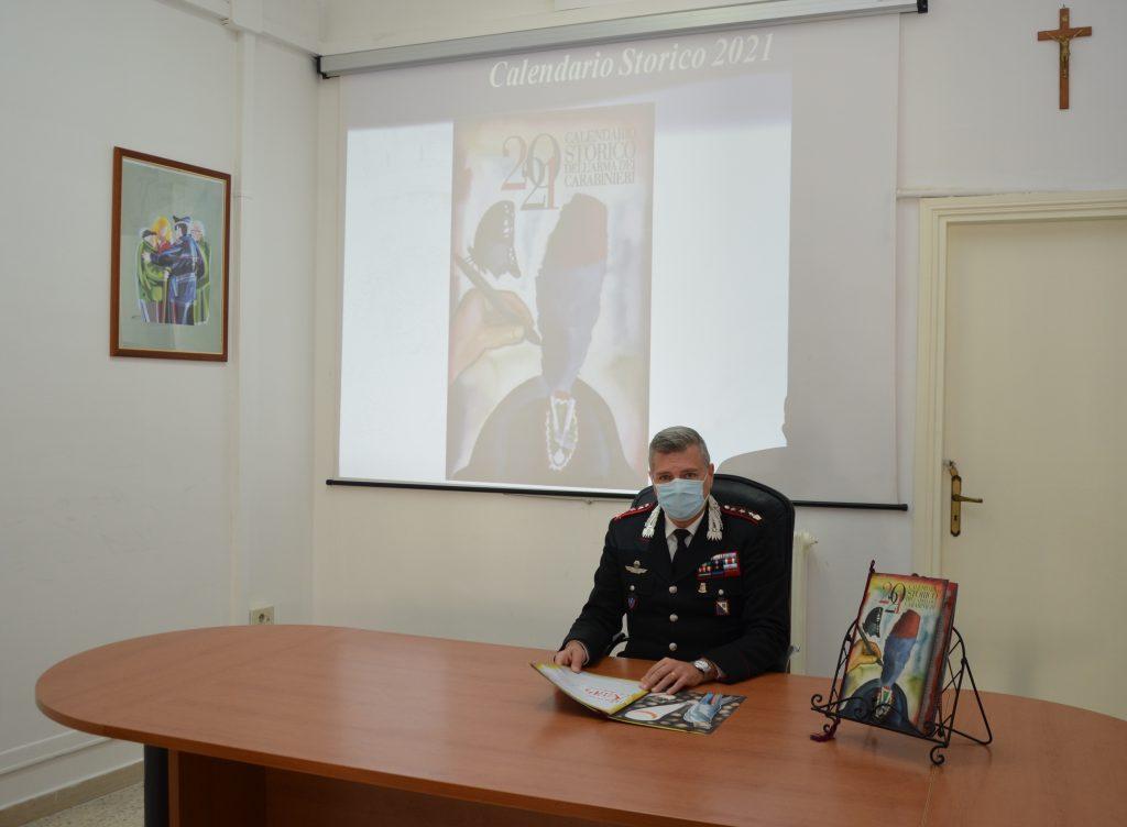 Calendario Potenza 2021 Carabinieri, a Potenza e Matera svelato il calendario storico del